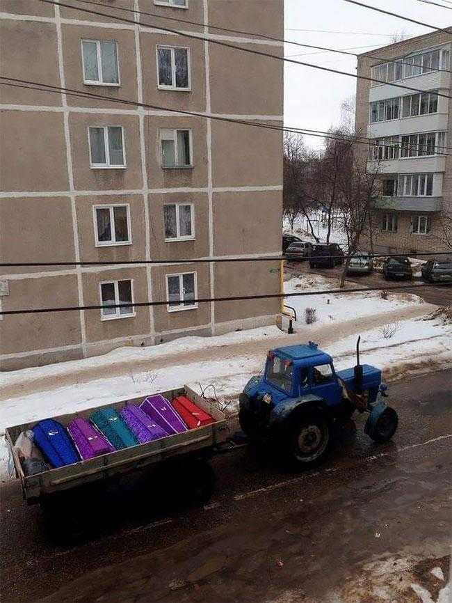 25 фотографий, сделанных в России, которые больше напоминают глюк в Матрице