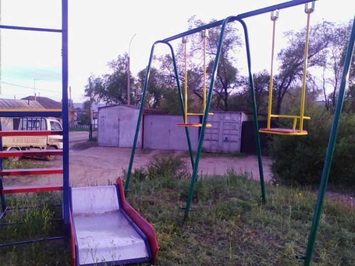 Качели для детишек. | Фото: myrussia.life.