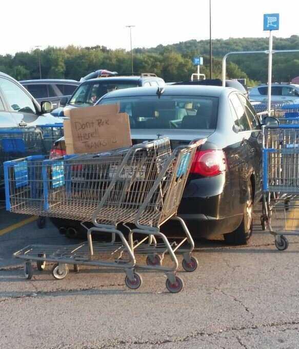 10. На парковке сразу видно, кто идиот автомир, автохам, наказание, наказание за парковку, паркуюсь как