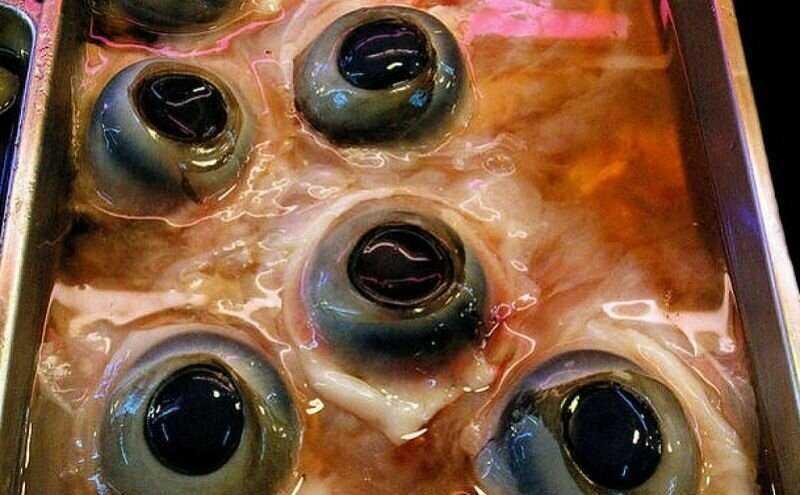 Глаза тунца — Япония