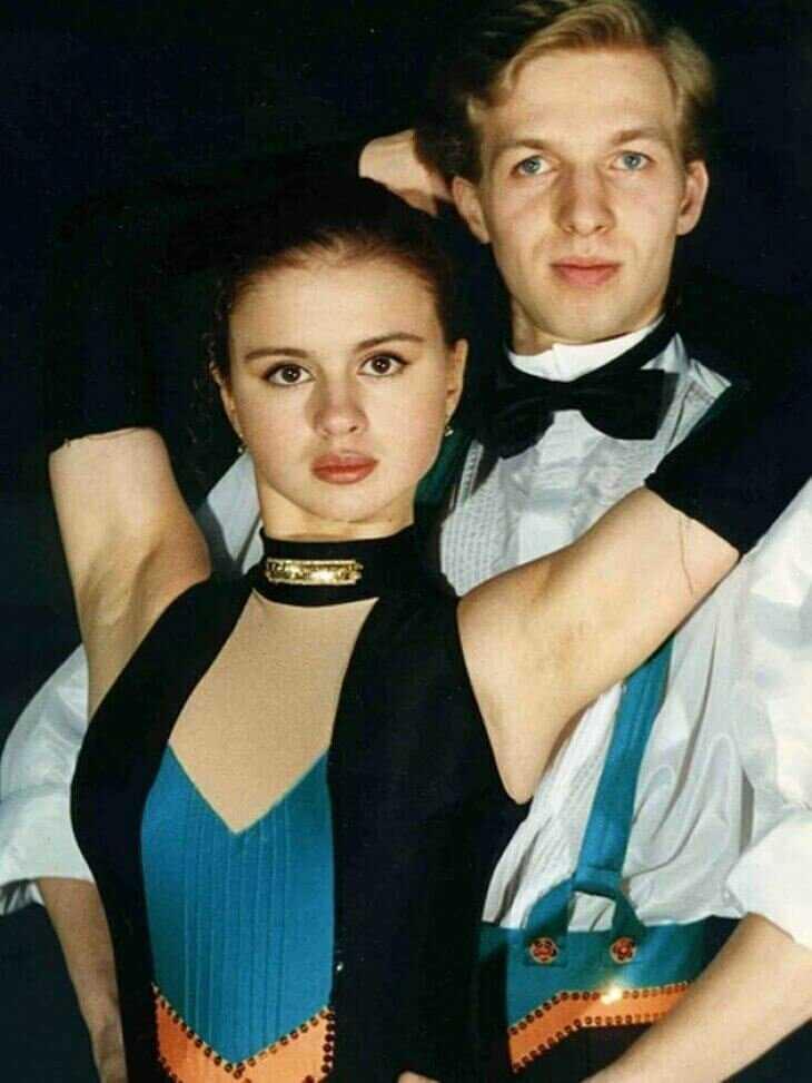 Анна Семенович в 1995 году