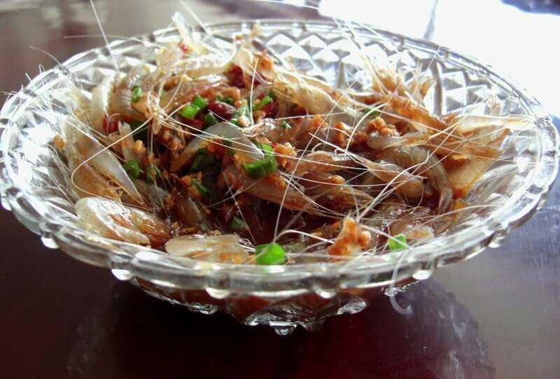 Пьяные креветки — Китай